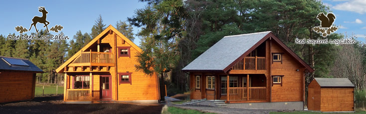 Log Cabin Self Catering Holiday Accommodation Speyside Moray